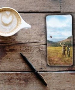 Flip Phone Case (Clay Shooting) Personalised Gift