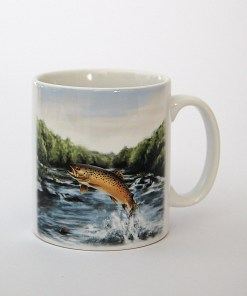 Highland Collection – Ceramic Mug (Brown Trout)