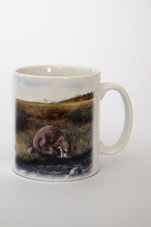 Highland Collection – Ceramic Mug (Otter)