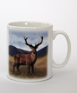 Highland Collection – Ceramic Mug (Stag)