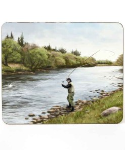 Highland Collection – Table Mat (Fly Fishing) Personalised Gift