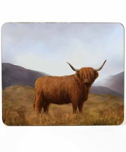 Highland Collection – Table Mat (Highland Cow) Personalised Gift