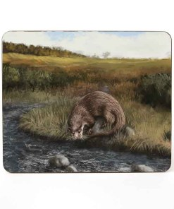 Highland Collection – Table Mat (Otter) Personalised Gift