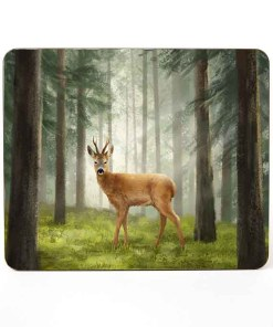 Highland Collection – Table Mat (Roe Buck) Personalised Gift