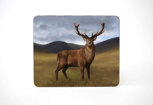 Highland Collection – Table Mat (Stag) Personalised Gift