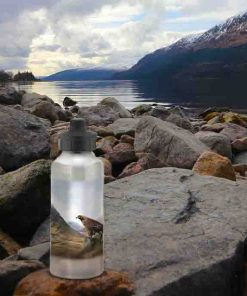 Highland Collection - Aluminium Reusable Environmentally Friendly Water Bottle (Eagle) Personalised Gift