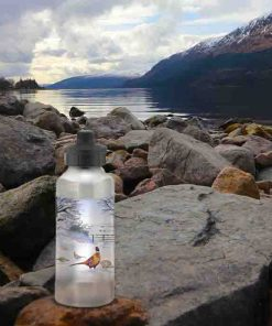 Highland Collection - Aluminium Reusable Environmentally Friendly Water Bottle (Pheasant) Personalised Gift
