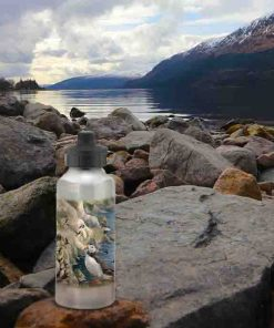 Highland Collection - Aluminium Reusable Environmentally Friendly Water Bottle (Puffin) Personalised Gift