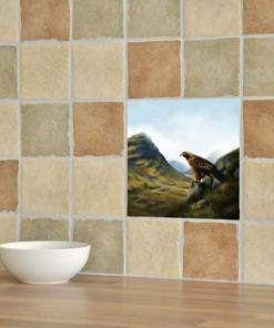 Highland Collection - Ceramic Tile (Eagle)