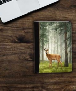 Highland Collection - Flip iPad Case (Roe Buck) Personalised Gift