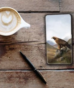 Highland Collection - Flip Phone Case (Eagle) Personalised Gift