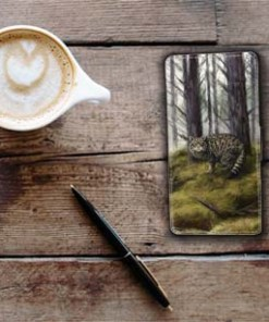 Highland Collection - Flip Phone Case (Wild Cat) Personalised Gift