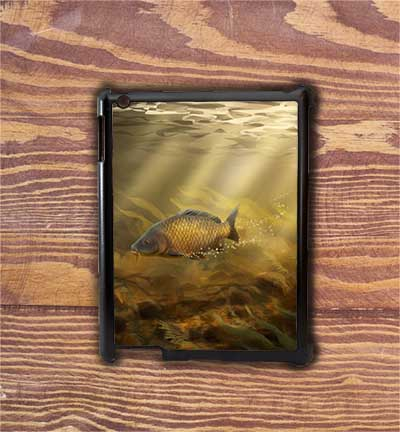 Highland Collection - iPad Shell Case (Common Carp) Personalised Gift