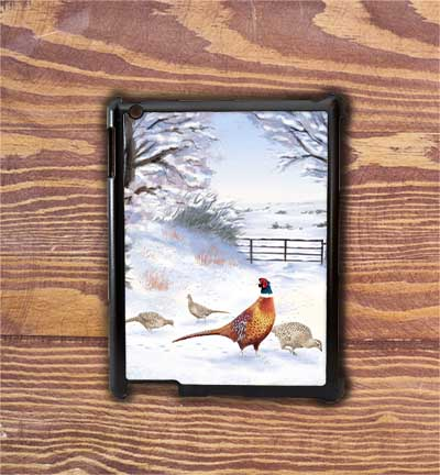 Highland Collection - iPad Shell Case (Pheasant) Personalised Gift