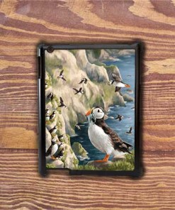 Highland Collection - iPad Shell Case (Puffin) Personalised Gift