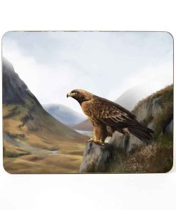 Highland Collection - Mousemat (Eagle) Personalised Gift