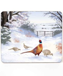 Highland Collection - Mousemat (Pheasant) Personalised Gift