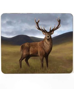 Highland Collection - Mousemat (Stag) Personalised Gift