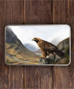 Highland Collection - Rectangular (Eagle) Personalised Gift