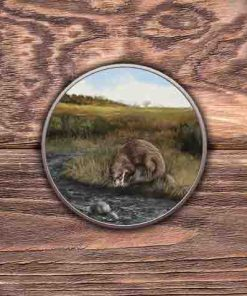 Highland Collection - Round (Otter) Personalised Gift