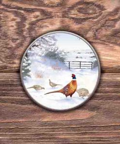 Highland Collection - Round (Pheasant) Personalised Gift