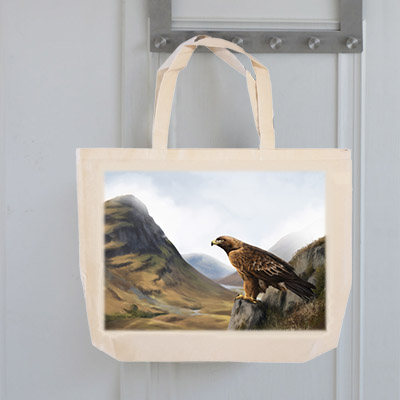 Highland Collection - Tote Bag (Eagle) Personalised Gift
