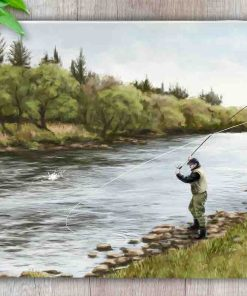 Highland Collection - Worktop Saver (Fly Fishing) Personalised Gift