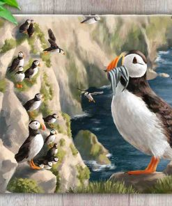 Highland Collection - Worktop Saver (Puffin) Personalised Gift