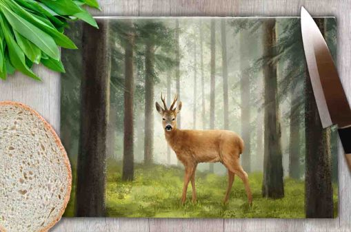 Highland Collection - Worktop Saver (Roe Buck) Personalised Gift