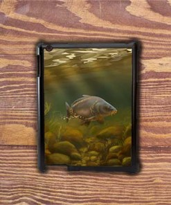 Highland Collection - iPad Shell Case (Mirror Carp) Personalised Gift