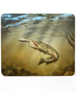Mousemat (Pike) Personalised Gift