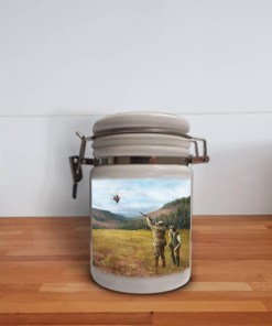 Storage Jar Container (Clay Shooting) Personalised Gift
