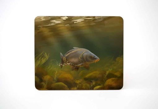 Table Mat (Mirror Carp) Personalised Gift