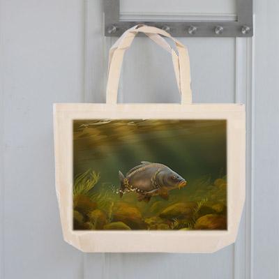 Tote Bag (Mirror Carp) Personalised Gift