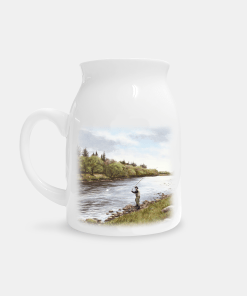 Country Images Personalised Printed Custom Milk Jug Fly Fishing Angling Angler Gifts Sporting Highland Collection