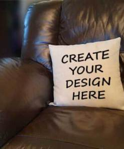 Blank Linen Cushion Home Furnishing Personalised Gift - Ready to Personalise