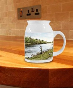 Highland Collection - Milk Jug (Fly Fishing) Personalised Gift