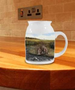 Highland Collection - Milk Jug (Otter) Personalised Gift