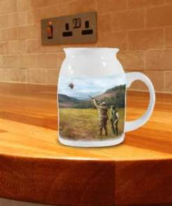 Milk Jug (Clay Shooting) Personalised Gift