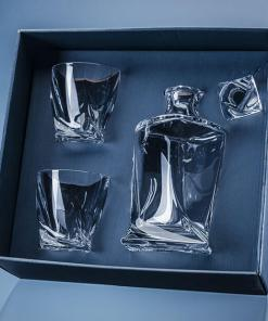 Satin-Lined Presentation Box - Twisted Decanter with 2 x Twisted Whiskies