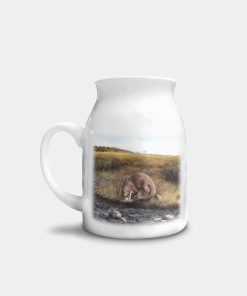 Country Images Personalised Highland Collection Printed Custom Milk Jug Otter Wildlife Scotland 1