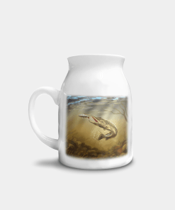 Country Images Personalised Printed Custom Milk Jug Pike Angling Angler Gifts Sporting 1