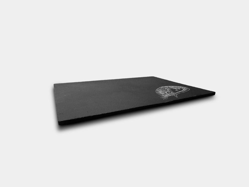 Country Images Scotland Custom Personalised Slate Placemats Place Mat Placemat Table Tablemats Engraved Scottish Box Set Otter Side