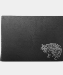 Country Images Scotland Custom Personalised Slate Placemats Place Mat Placemat Table Tablemats Engraved Scottish UK Wildcat Wild Cat