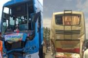 साउथ कश्मीर मे 2बस आपस मे टक्कर, 20 यात्री घायल