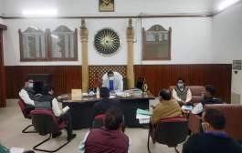 मोतिहारी: जिले मे धान की खरीदारी को लेकर जिलाधिकारी शीर्षत कपिल अशोक ने अधिकारियों के साथ की बैठक