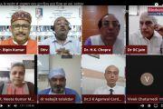 दिल्ली /विश्व ह्दय दिवस के अवसर पर आयुष्मान भारत संस्था द्वारा IMAके सहयोग से International Conference On Heart का हुआ आयोजन