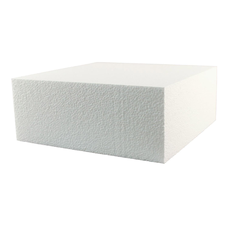 18 X 4 Square Styrofoam Cake Dummy 21 1418 Country