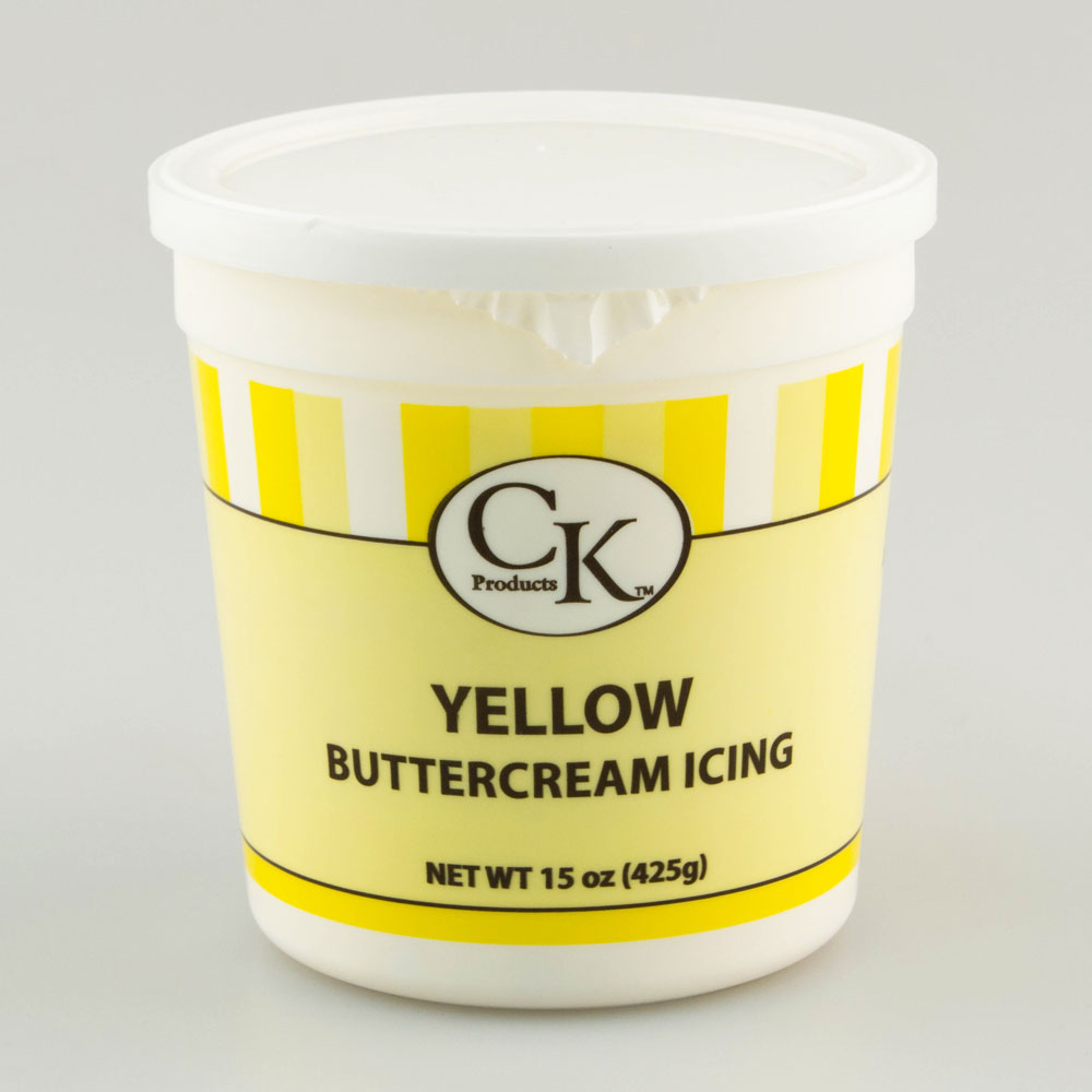 Yellow Decorating Buttercream Icing 77 66051 Country