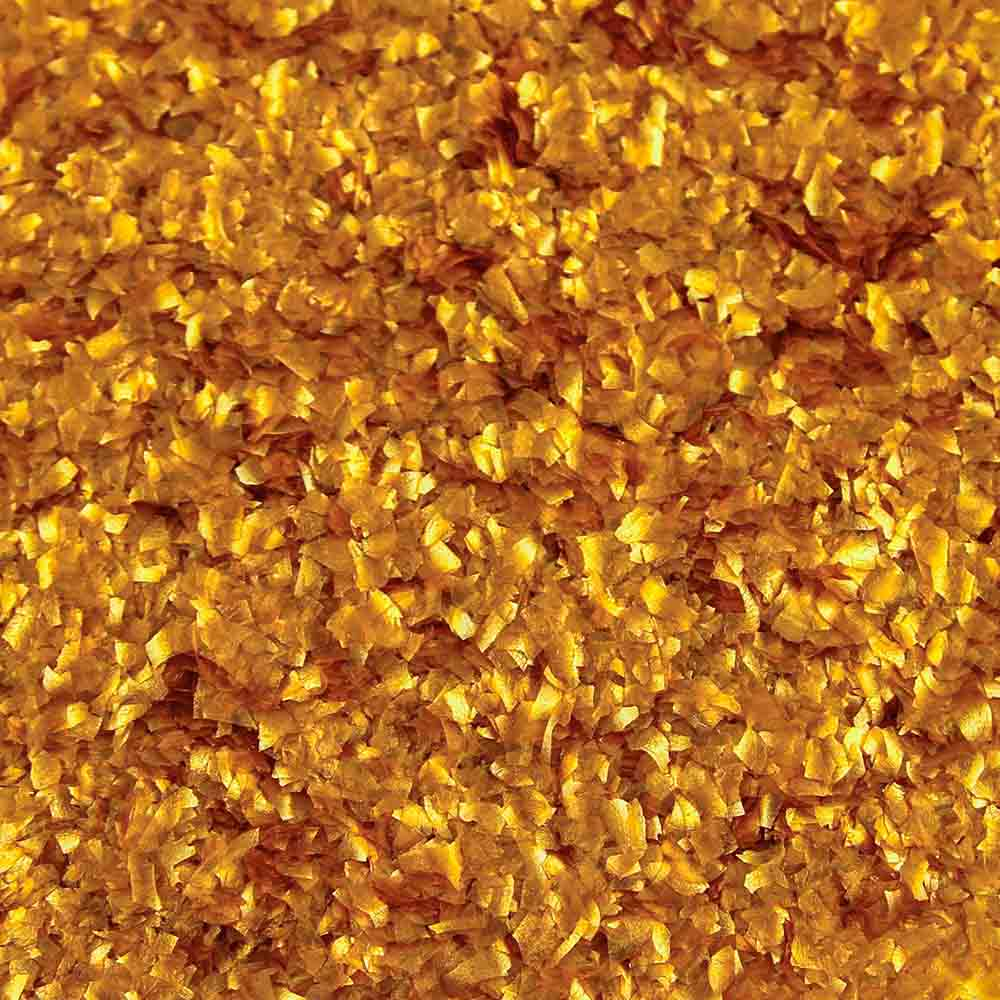 Metallic Gold Edible Glitter Flakes  78691D  Country
